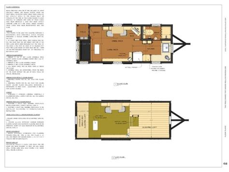 tiny house plans  sq ft rolling bungalow