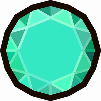 Emerald Stone Clipart Hunt Treasure Gem Clip