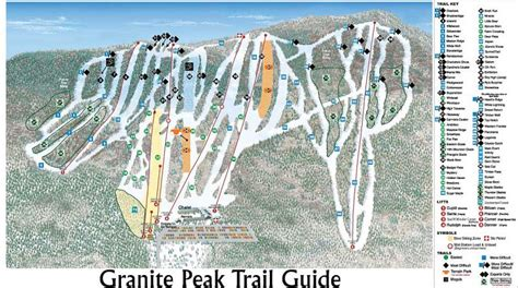 granite peak ski area ski resort guide location map