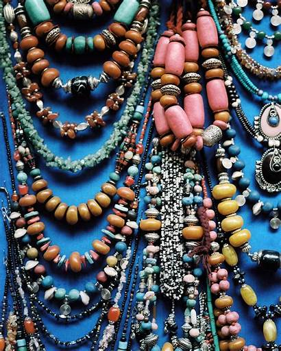 Moroccan Jewelry Beaded Marrakech Necklaces Eclectic Lonny