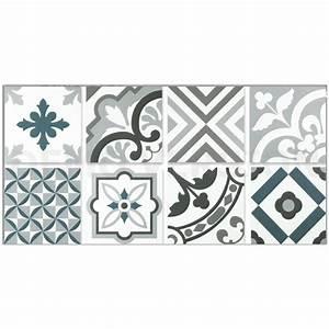 decor carrelage neocim carreaux ciment 20x20 patchwork With carreaux de ciment bleu