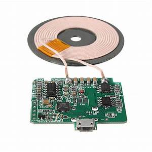 Wireless Coil Charger Circuit Board For Cell Phone From