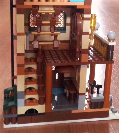 ideas on how to decorate a small bedroom moc winter grandparents house lego town 21272