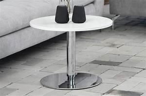 Table Basse Reglable Hauteur : table basse design laqu brillant blanc hauteur r glable soch mobilier priv ~ Teatrodelosmanantiales.com Idées de Décoration