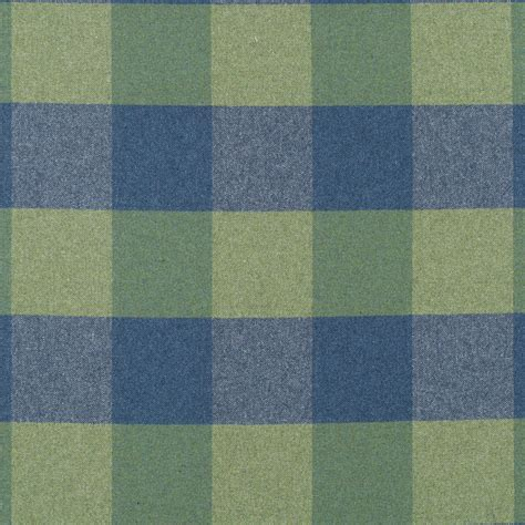 Blue Plaid Upholstery Fabric by Blue Green Plaid Wool Upholstery Fabric Modern Green