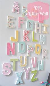 getting ready for a baby 22 diy projects to craft for With diy letters for the wall