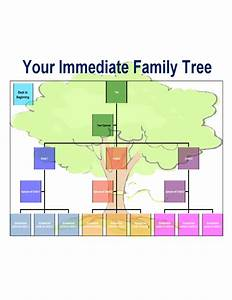best family tree chart template free download With template for a family tree chart