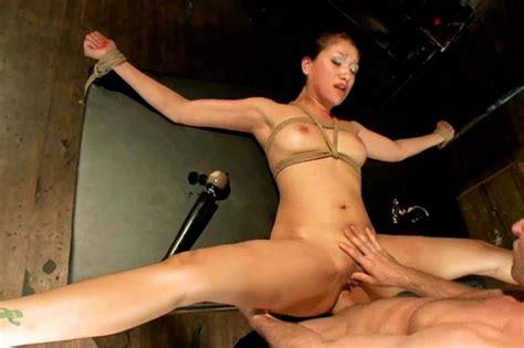 bondage in links model and naked humiliation