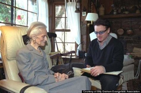 U2's Bono Once Wrote A Poem For Billy Graham