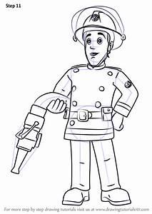 Learn How To Draw Elvis Cridlington From Fireman Sam