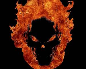 Ghost Rider Skull Wallpapers - Wallpaper Cave