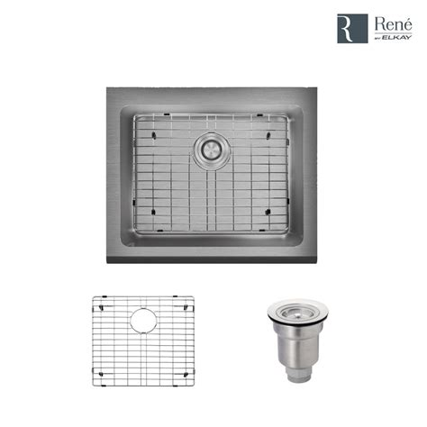 kitchen sinks direct rene by elkay all in one farmhouse apron front stainless 3004