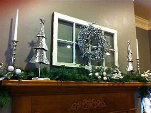 White, And, Silver, Christmas, Mantle, I, Have, Those, Trees