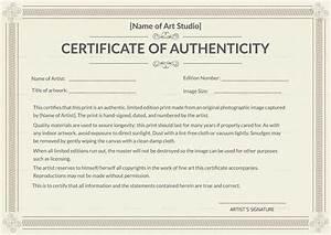 printable authenticity certificate design template in psd With certificates of authenticity templates