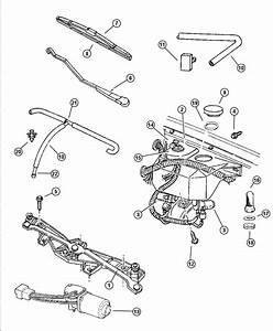 Dodge Dakota Used For  Pivot And Linkage  Wiper  Lhd