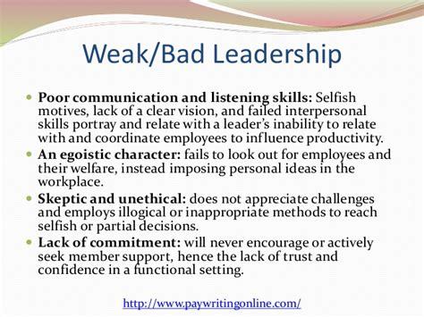 essays on leadership traits essay on leadership traits