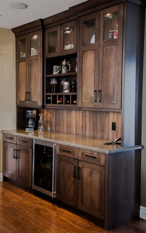 kitchen bars with storage custom maple wetbar bar wall unit great for entertaining 5100