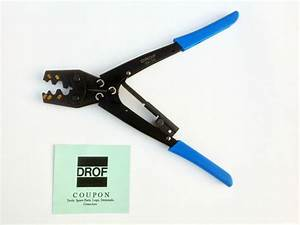 New Heavy Duty Ratcheting Crimper Tool Electrical Wire