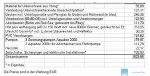 L Steine Kosten : die preisliste f r mein 558 l meerwasseraquarium inkl ~ Michelbontemps.com Haus und Dekorationen