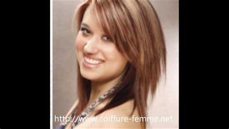 coiffure femme visage rond les tendances coupe de cheveux ronde