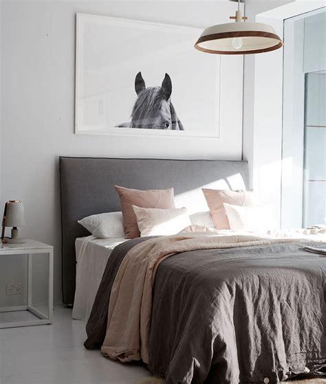 bronte slipcover linen bed head  headboard ash grey