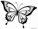 Butterfly Pages Coloring Printable Cool2bkids sketch template