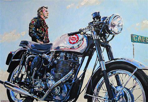 Vintage Motorcycle Art #3