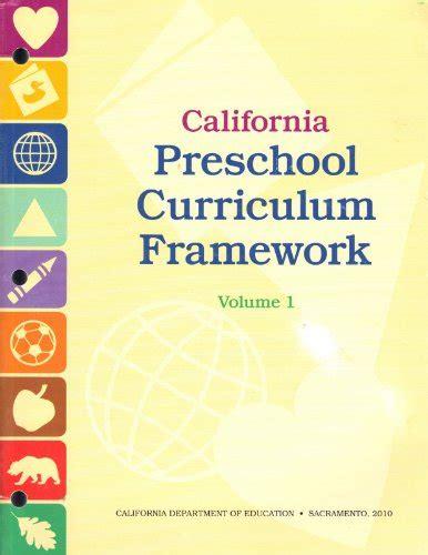 ca preschool curriculum framework california preschool curriculum framework association 262