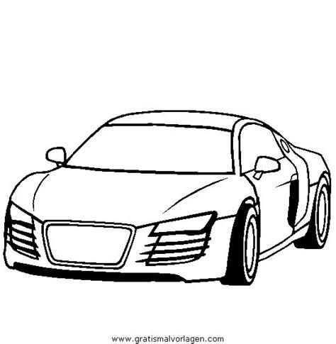 audi  gratis malvorlage  autos transportmittel ausmalen