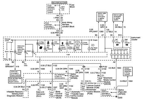 Silverado Speedometer Wiring Diagram by Repair Guides Instrument Panel Gauges Console
