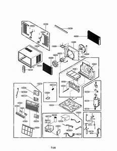 Lg Lw1017ersm  00 Room Air Conditioner Parts