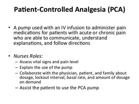 gemc pharmacology  pain medications  nurses