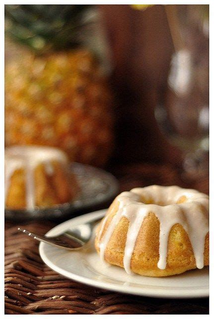 How to make a pina coladathe pina colada is one of the most well known tropical cocktails. Mini Piña Colada Bundt Cakes | Sweet recipes, Dessert ...