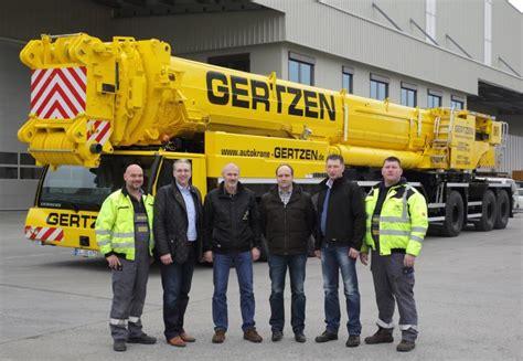 Liebherr 750-tonnen-mobilkran Ltm 1750-9.1 Für Gertzen
