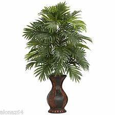 Fake Indoor Palm Trees With Lights Artificial Palm Tree Floral Decor Ebay