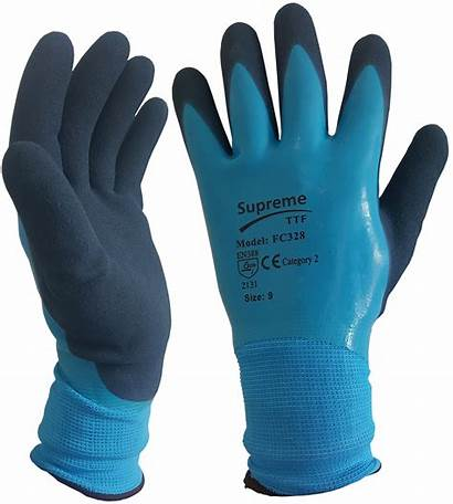 Gloves Waterproof Fully Ppe Supreme Coated Wet