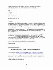 sample california settlement offer letter With sample of workers comp settlement letter