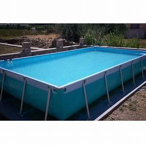 Piscine Tubulaire Hors Sol : piscine hors sol tubulaire iaso max 9 75x4 25x 1 20 m filtration 20 m3 h ~ Melissatoandfro.com Idées de Décoration