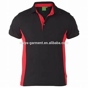 Black And Red Polo Shirt Design,Work Polo Shirts - Buy ...