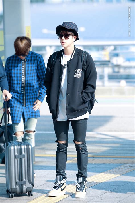 [Picture/Fansitesnap] BTS at Incheon Airport Depart to San Fransico [150921]