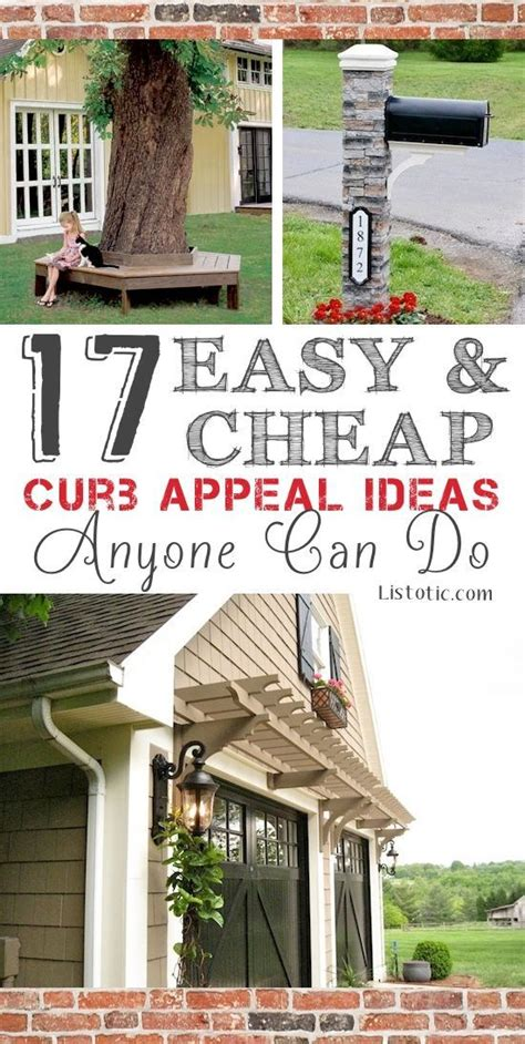 17 Easy And Cheap Curb Appeal Ideas Anyone Can Do Love