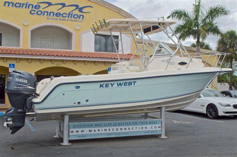Key West Cuddy Cabin Boats by Used 2005 Key West 2300 Wa Walkaround Boat For Sale In