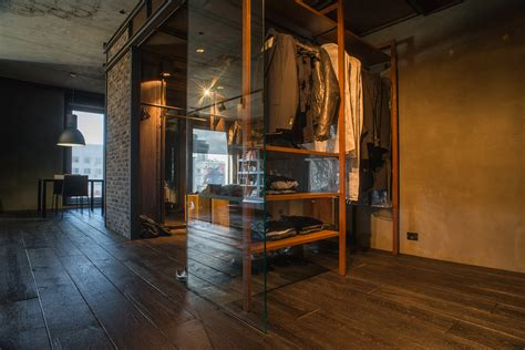 industrial meets nature   remarkable loft  kiev