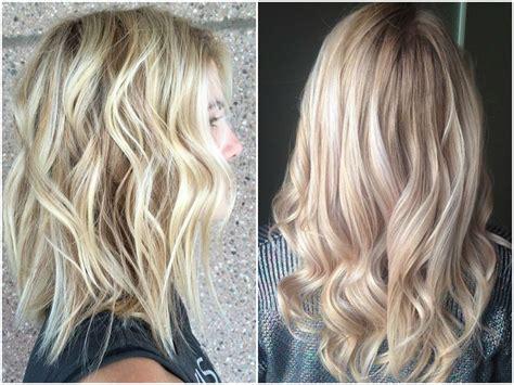 stylish dark  light blonde balayage