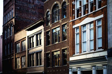 picture urban windows apartment architecture