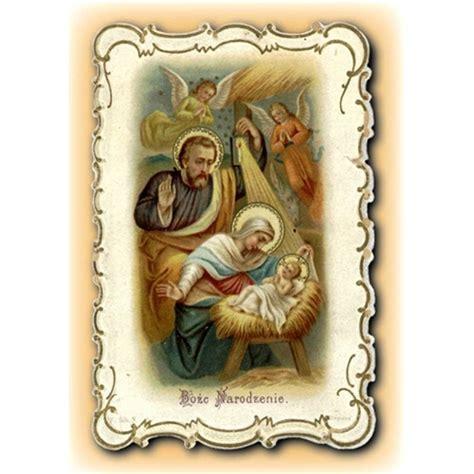 polish art center christmas greeting card   holy