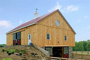 four stall bank barn newville pa bd builders With barn builders in pa