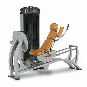 Horizontal adjustable leg press