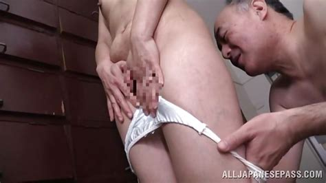 Hisae Yabe In Creepy Old Man Grabs And Licks His Wife