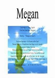 1000+ images about Megan on Pinterest | Name stickers ...